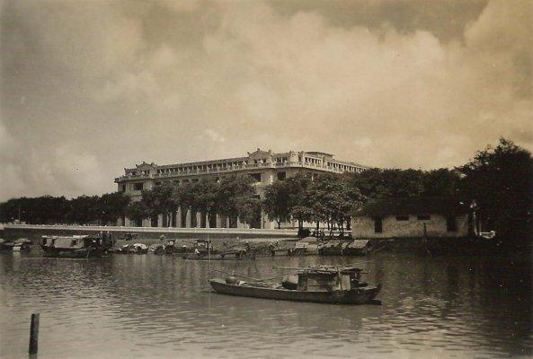 Banque_Indochine_Saigon1 Việt Nam vào năm 1950 của ông Urbain CALESTROUPAT