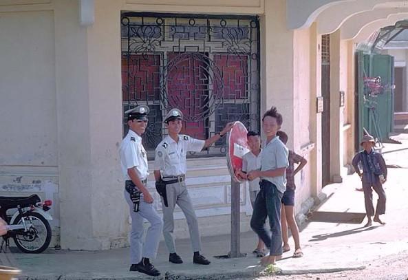cảnh sát ngày xưa