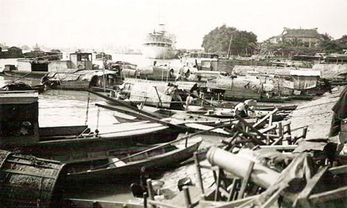 Góc cảng Sài Gòn xưa