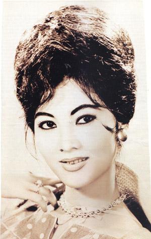 Người đẹp Bình Dương  -Thẩm Thúy Hằng năm 1972. Ảnh Viễn Kính