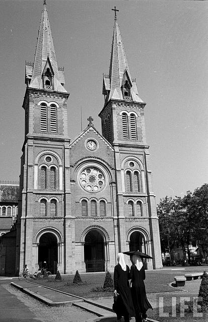 Nhà Thờ chính - Nhà thờ Đức Bà