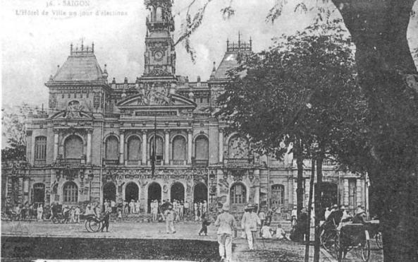 Tòa Đô chính ( nay là UBND TPHCM )