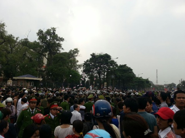 Vĩnh Phúc biểu tình h5