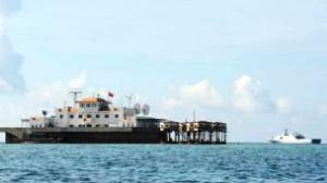 Một cơ sở của Trung Quốc ở quần đảo Trường Sa mà họ gọi là Nam Sa