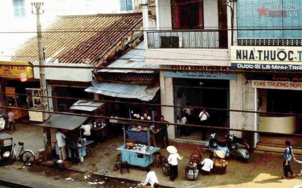 quán ăn lề đường Trương Công Định