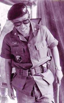 Chuẩn tướng Trần Quang Khôi - Tư lệnh Lữ đoàn 3 Kỵ binh.