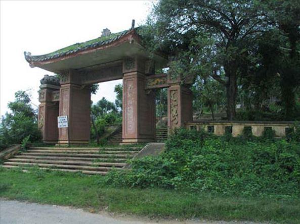 Cổng Tam Quan ngày nay.