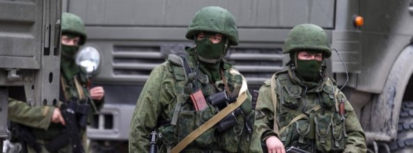 Lính đặc nhiệm Nga ở Crimea.